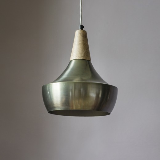 Dexter Ceiling Pendant in Zinc Gold