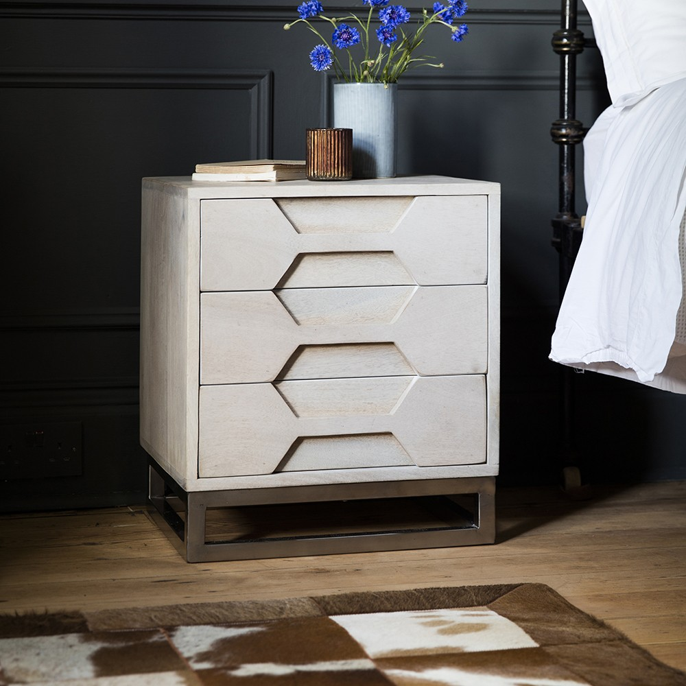 Hex Bedside Chest