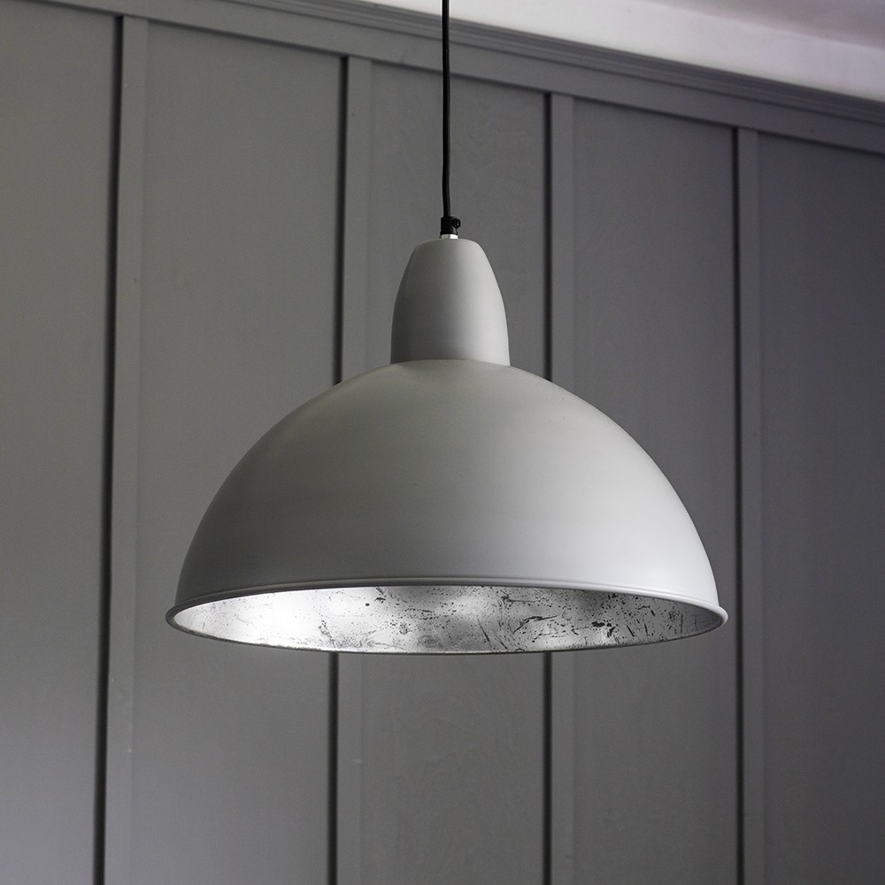 Contemporary ceiling pendant light in grey Modern pendant lighting