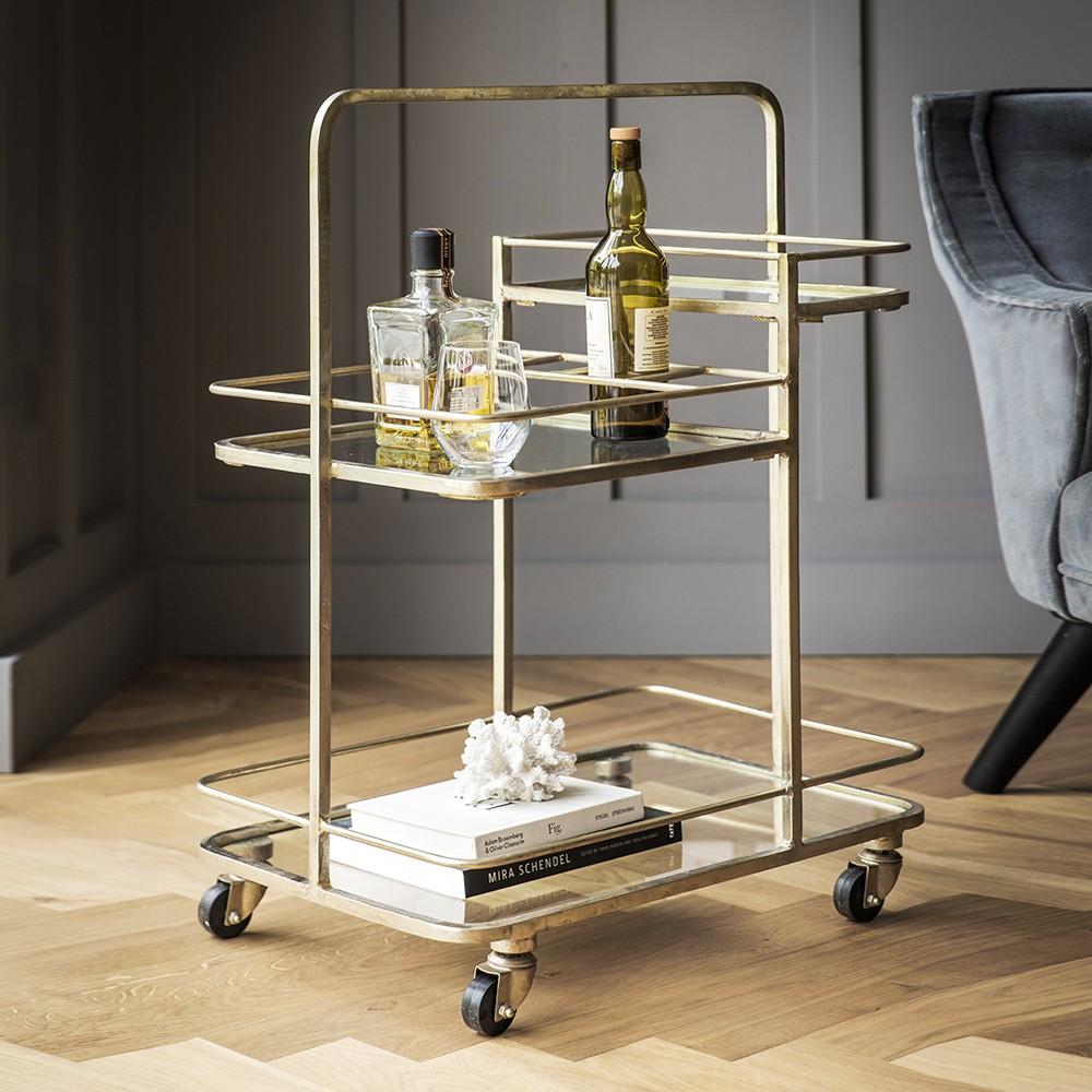 stirling bar trolley. bar trolley