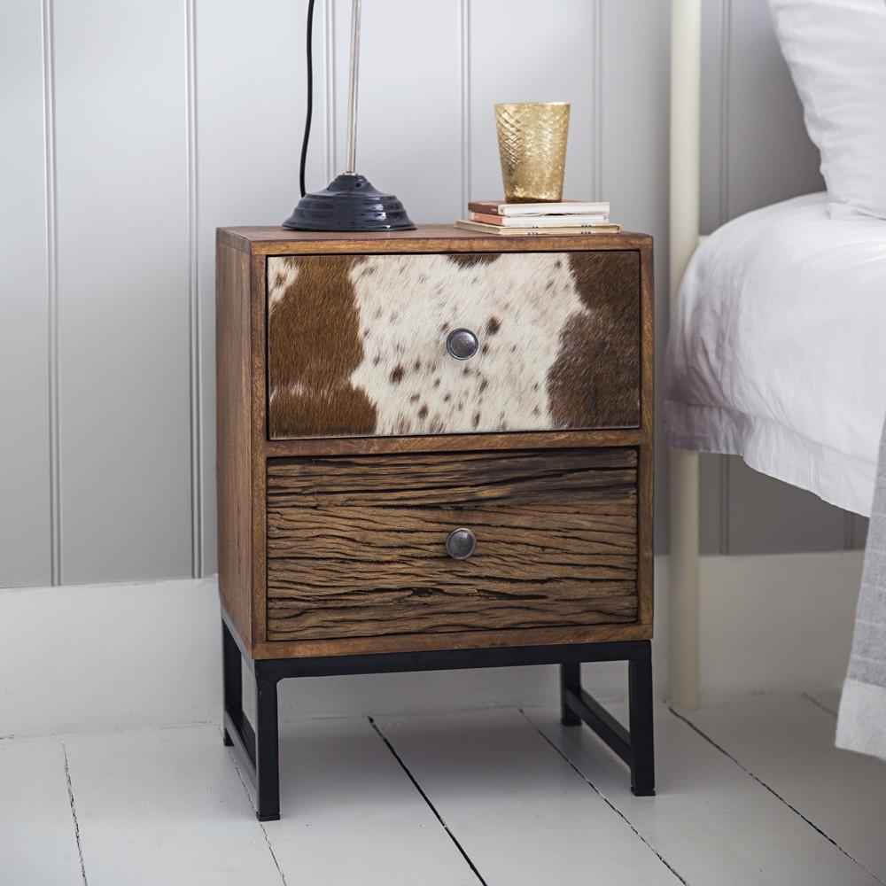 ... Montana 2 Drawer Bedside Cabinet ...