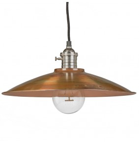 Soho Ceiling Pendant in Burnished Copper
