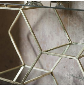 Hexagon Console Table