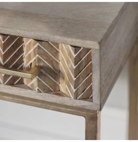 Ashanti 3 Drawer Console Table