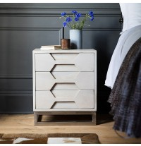 Hex Bedside Chest of Drawers