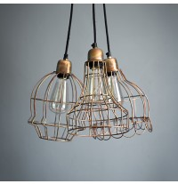 Arcadia Ceiling Pendant in Burnished Copper