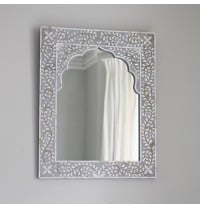Kasbah Mother of Pearl Wall Mirror in Grey - ETA mid Feb
