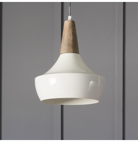 Dexter Ceiling Pendant in Ivory