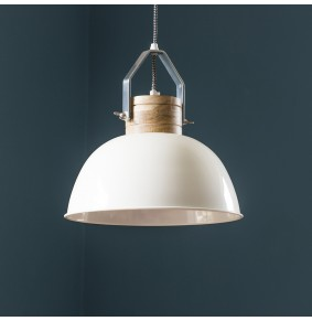 Portland Ceiling Pendant in Ivory