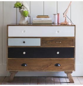 Milligan Retro 5 Drawer Chest