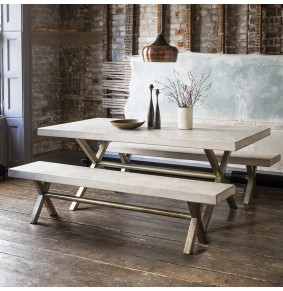 Chevron Dining Table - ETA end Dec