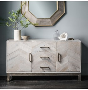 Chevron Sideboard
