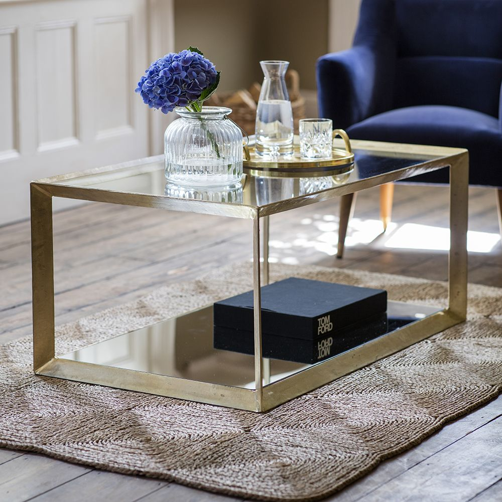 All Mirror Coffee Table.Belvedere Coffee Table