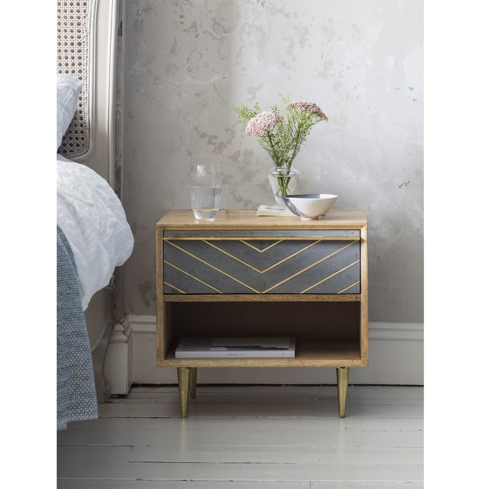 Toshi Bedside Table Atkin And Thyme