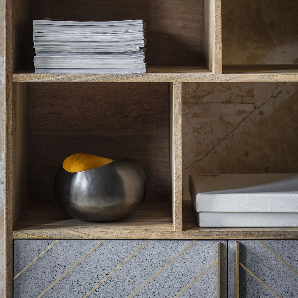 Toshi Shelving Unit Atkin And Thyme