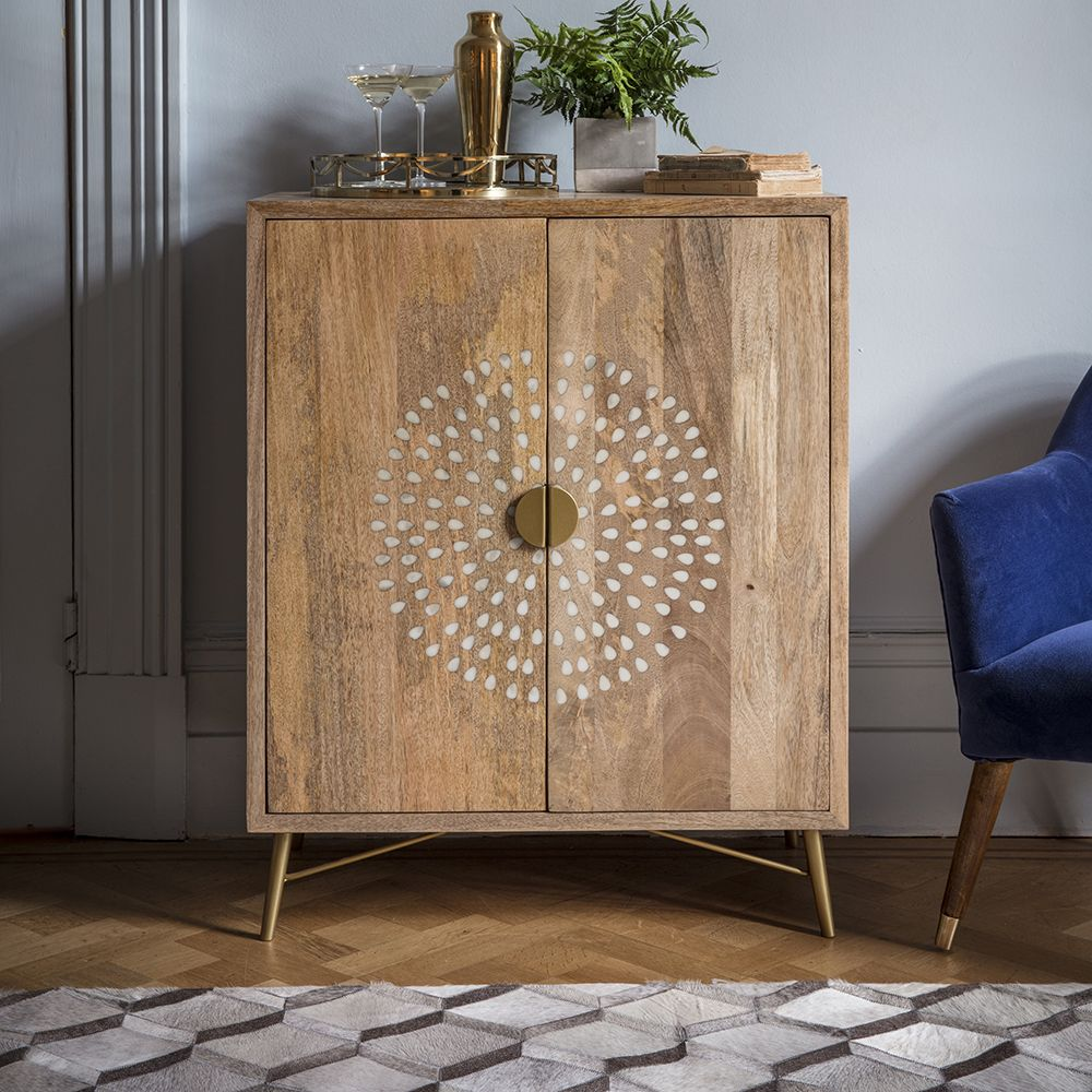 Chakra Bar Cabinet Light Wood Sideboard Atkin And Thyme
