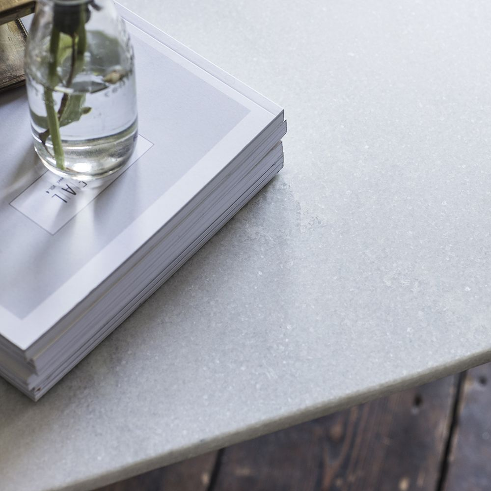 Stellar White Marble Coffee Table: Aldwych Marble Coffee Table - Gold