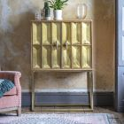 Pascali Brass Drinks Cabinet