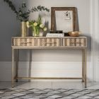 Ashanti 3 Drawer Console Table