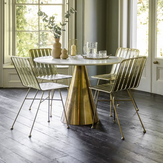 Castello Marble Dining Table