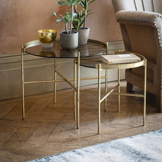 Reims Side / Coffee Table Set