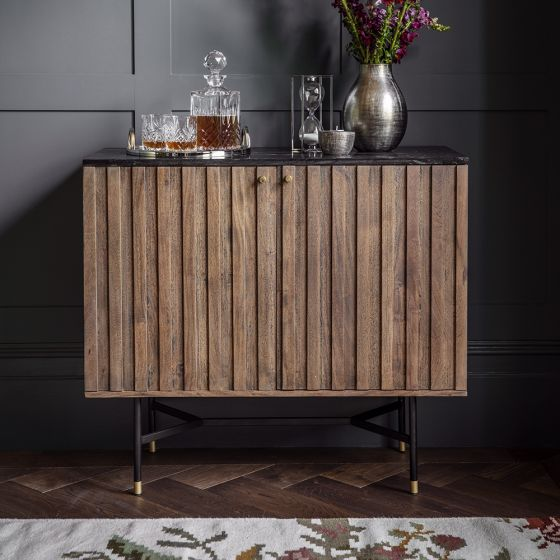Berkeley Marble Bar Cabinet