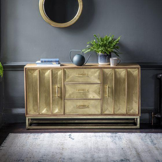 Pascali Brass Sideboard