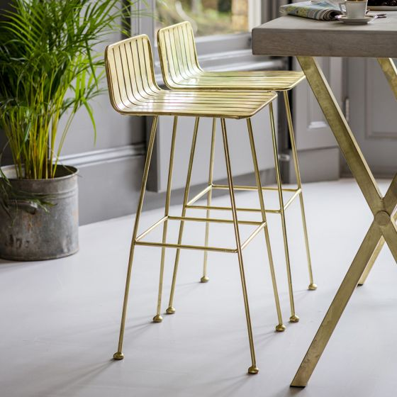 Bastille Bar Stool - Set of 2