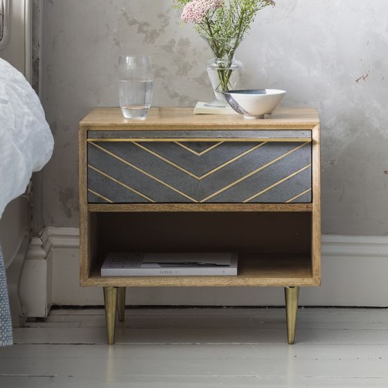 Toshi Bedside Table