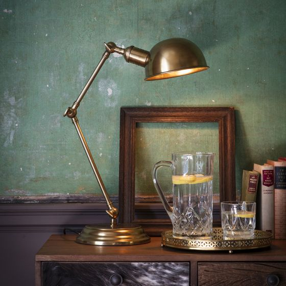 Mortimer Table Light - Antique Brass