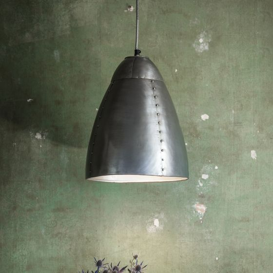 Havilland Pendant Light in Antique Nickel