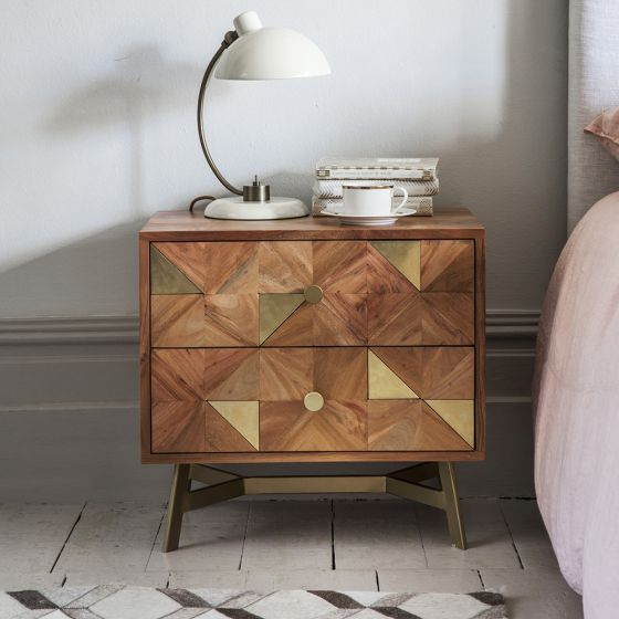 Toledo Bedside Drawers