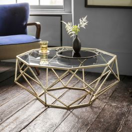 Gold Coffee Table – Atkin and Thyme