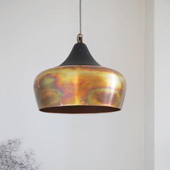 Alhambra Ceiling Light in Burnished Copper