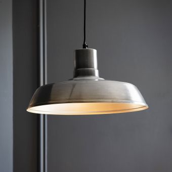 Dixie Pendant Light - Antique Nickel