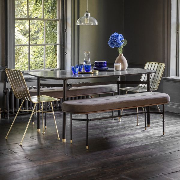 Berkeley Marble Dining Table