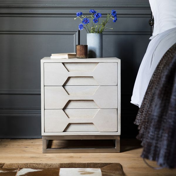 Hex Bedside Drawers