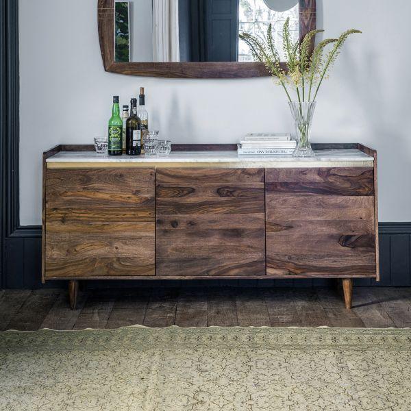 Deco Marble Sideboard