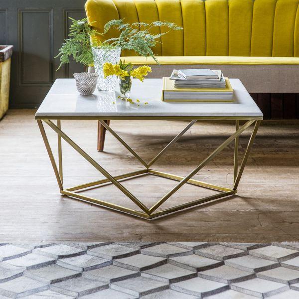 Zodiac Marble Coffee Table