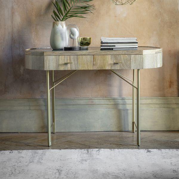 Jade Marble Console Desk