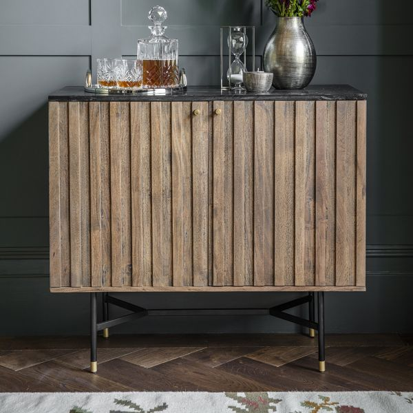 Berkeley Marble Bar Cabinet
