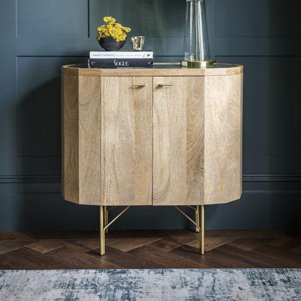 Jade Marble Bar Cabinet