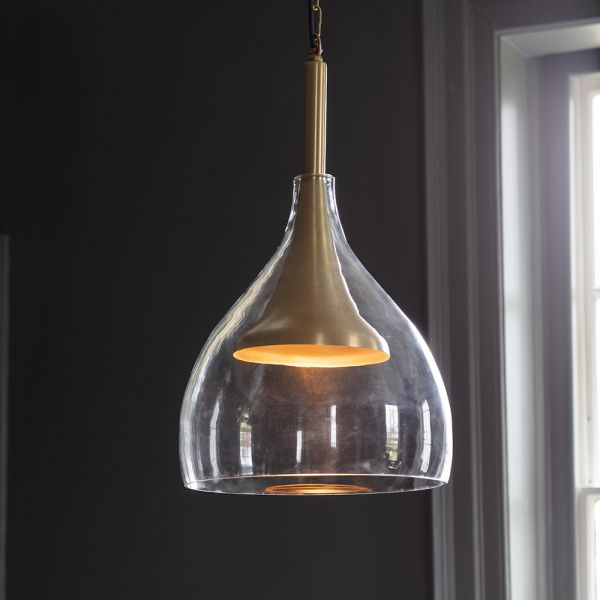 Valencia Pendant Light - Brass