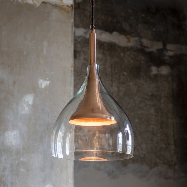Valencia Pendant Light - Copper