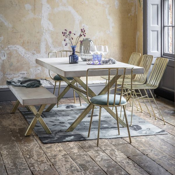 Chevron Dining Table - Large
