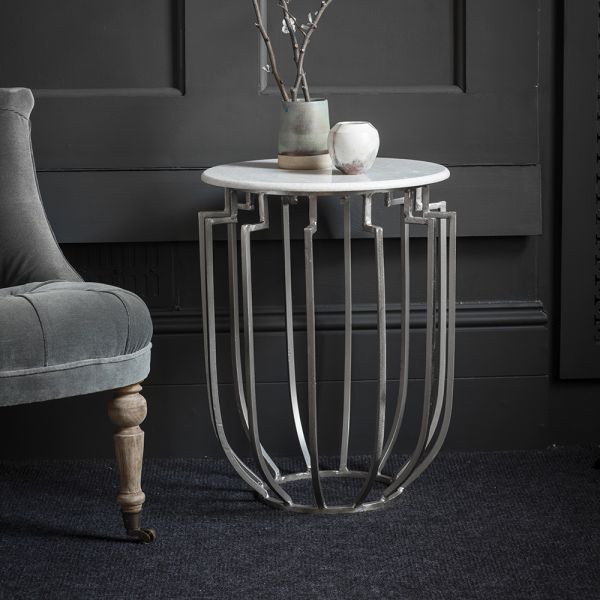 Regents Marble Top Side Table