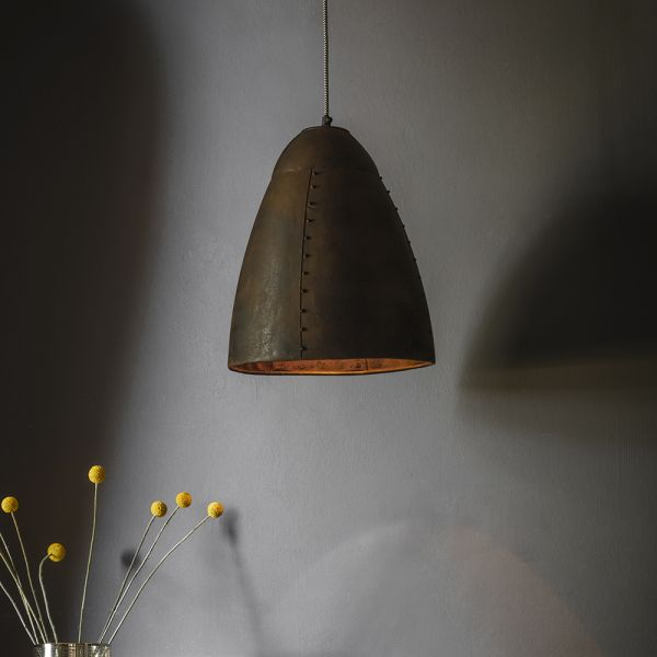Havilland Pendant Light in Rust