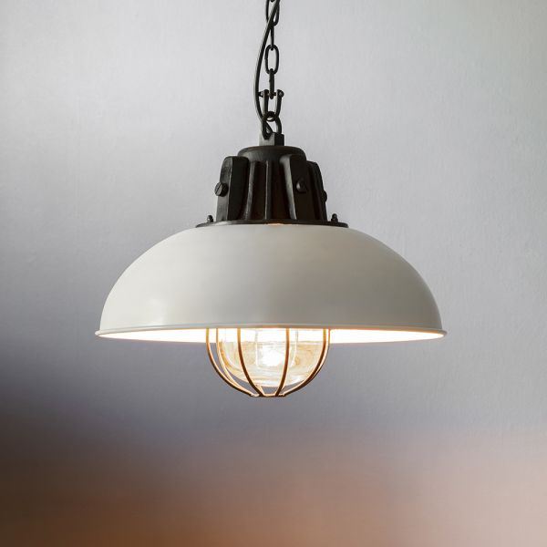 Whitby Pendant Light - White