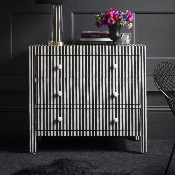 Amadeus Bone Inlay Chest of Drawers