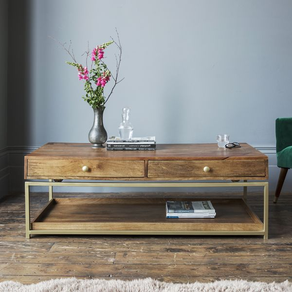 Henley Storage Coffee Table: Atkin And Thyme